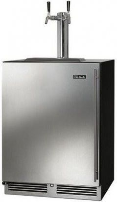 Perlick® Signature Series 5.2 Cu. Ft. Stainless Steel Beer Cooler/Kegerator-HP24TS-3-1L2A