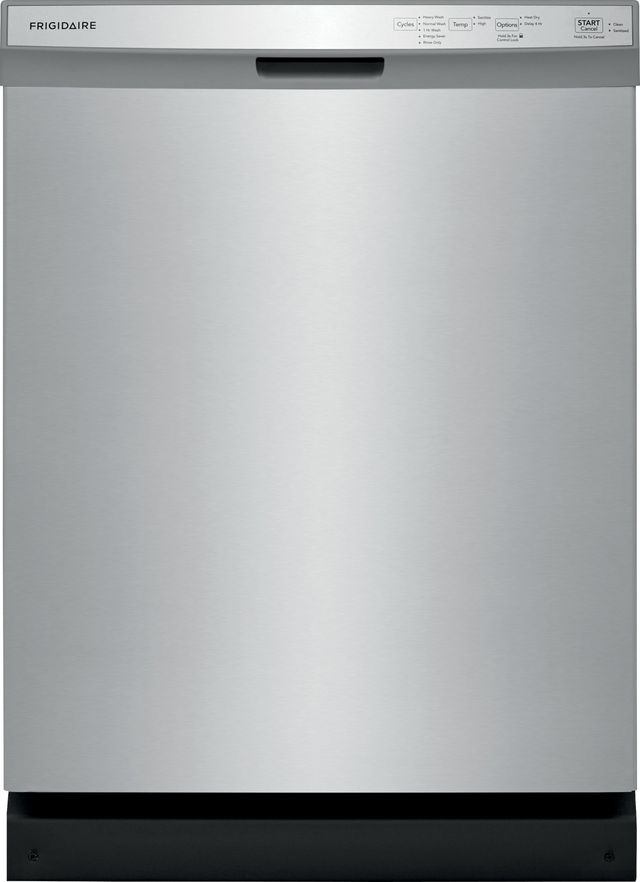 """Frigidaire® 24"""" Stainless Steel Built In Dishwasher-FFCD2418US"""