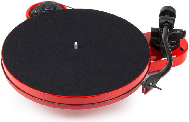Pro-Ject RPM Line Red Manual Turntable-RPM 1 Carbon-RD