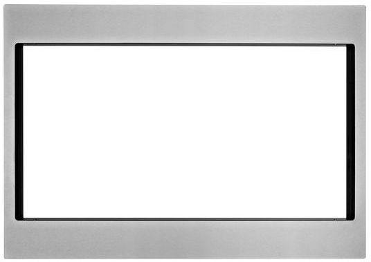 "KitchenAid 27"" Microwave Trim Kit-Stainless Steel-MK2227AS"