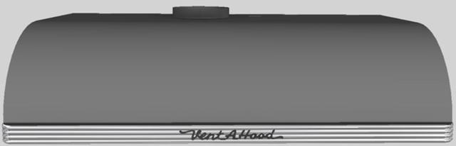 "Vent-A-Hood® 30""  Retro Style Under Cabinet Range Hood-Gunsmoke-CLH9-136 GS"