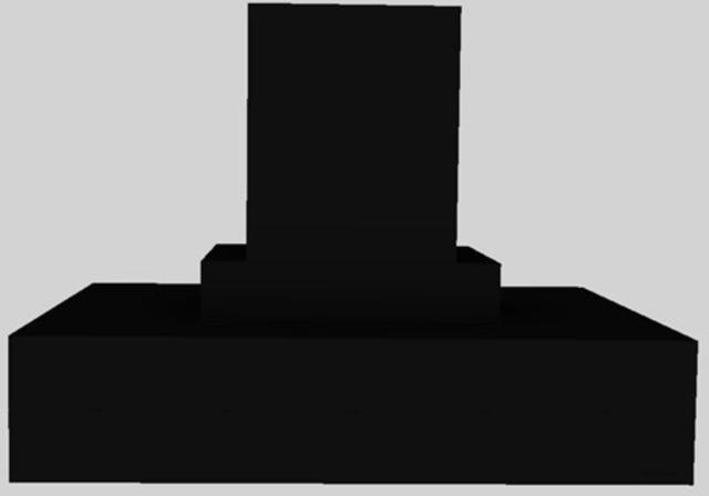 "Vent-A-Hood® 42"" Contemporary Island Range Hood-Black-CIEH9-242 BL"