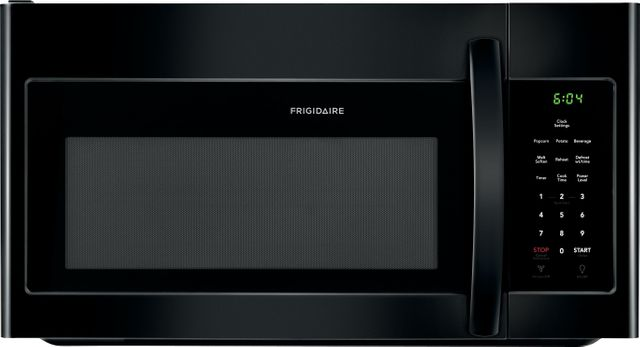 Frigidaire® 1.6 Cu. Ft. Black Over The Range Microwave-FFMV1645TB