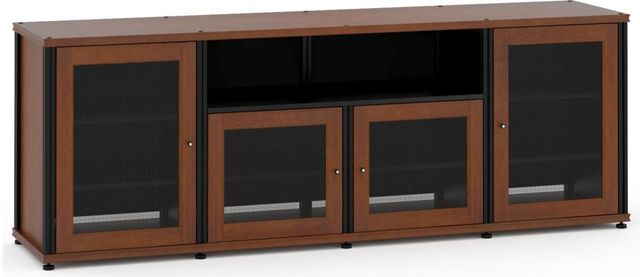 Salamander Designs® Synergy Model 345 AV Cabinet-Dark Cherry/Black-345C/B