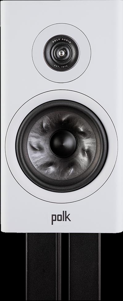 """Polk Audio Reserve R200 6.5"""" White Large Bookshelf Speaker -R200 White"""