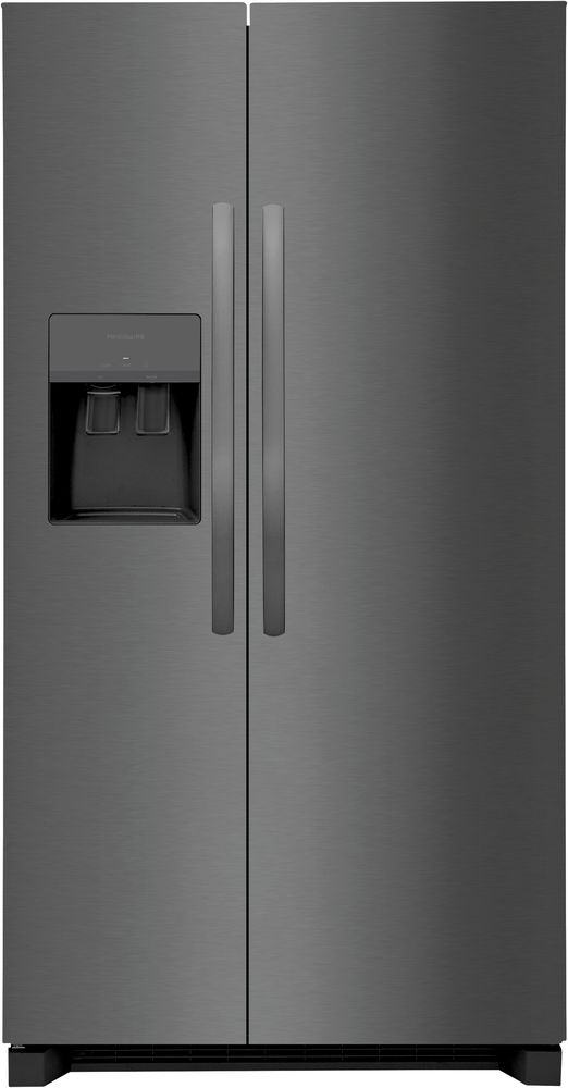 Frigidaire® 25.6 Cu. Ft. Black Stainless Steel Side-by-Side Refrigerator-FRSS2623AD