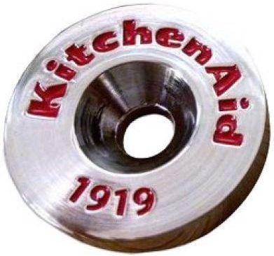KitchenAid® Handle Medallions - Chrome-W10846205