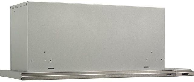 "Broan® Elite 15000 Series Silhouette® 30"" Stainless Brushed Aluminum Slide Out Under Cabinet Range Hood-153004"