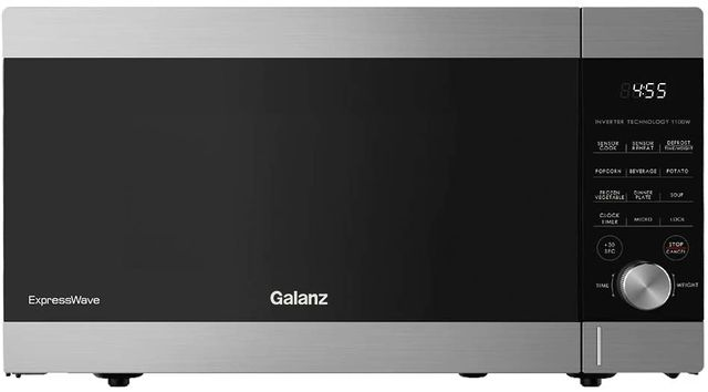 Galanz 1.6 Cu. Ft. Stainless Steel ExpressWave™ Sensor Cooking Microwave Oven-GEWWD16S1SV11