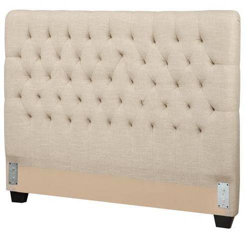 Coaster® Chloe Oatmeal Upholstered King Headboard-300007KEB1