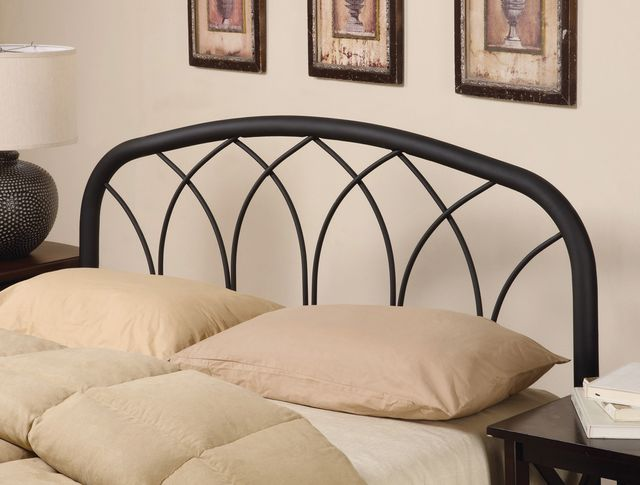 Coaster® Traditional Black Full/Queen Headboard with Arches-300184QF