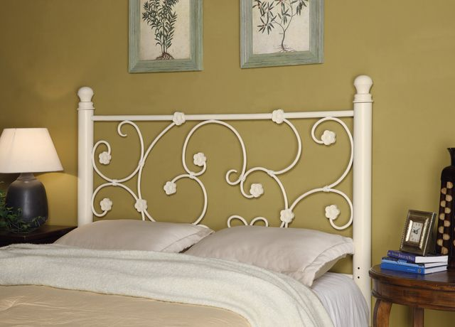 Coaster® Traditional Floral White Queen/Full Headboard-300185QF