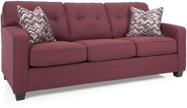 Decor-Rest® Furniture LTD 2298 Red Sofa-2298-SOFA RED