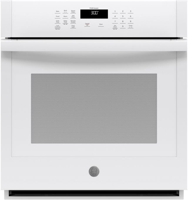 """GE® 27"""" White Electric Single Oven Built In-JKS3000DNWW"""
