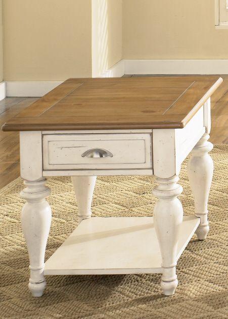 Liberty Furniture Ocean Isle Rectangular End Table-303-OT1020