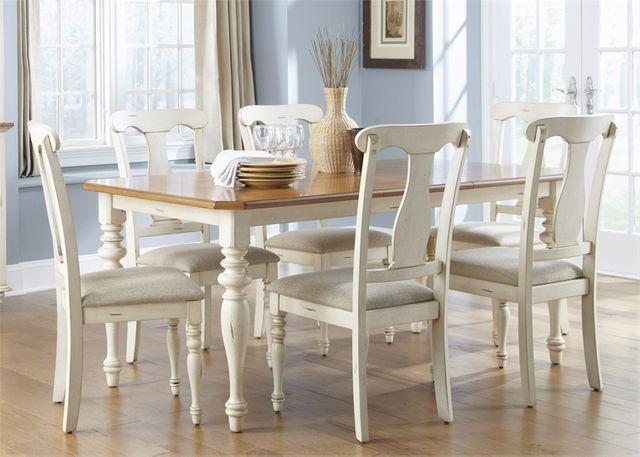 Liberty Furniture Ocean Isle Antique White Table-303-T3872