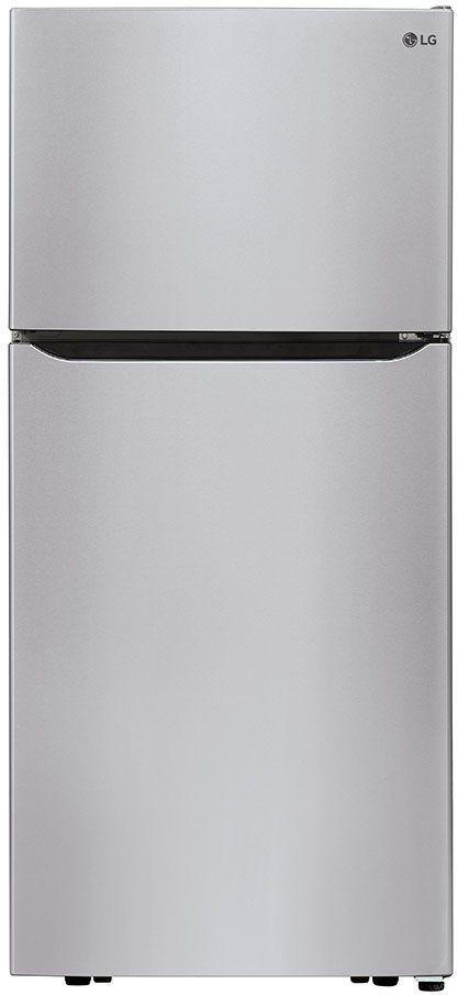 Réfrigérateur à congélateur supérieur de 30 po LG® de 20,2 pi³ - Acier inoxydable-LTCS20020S