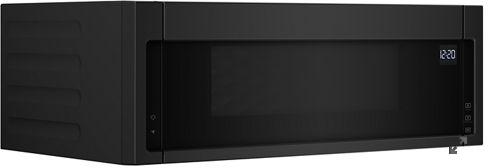 Whirlpool® 1.1 Cu. Ft. Black Over The Range Microwave-YWML55011HB