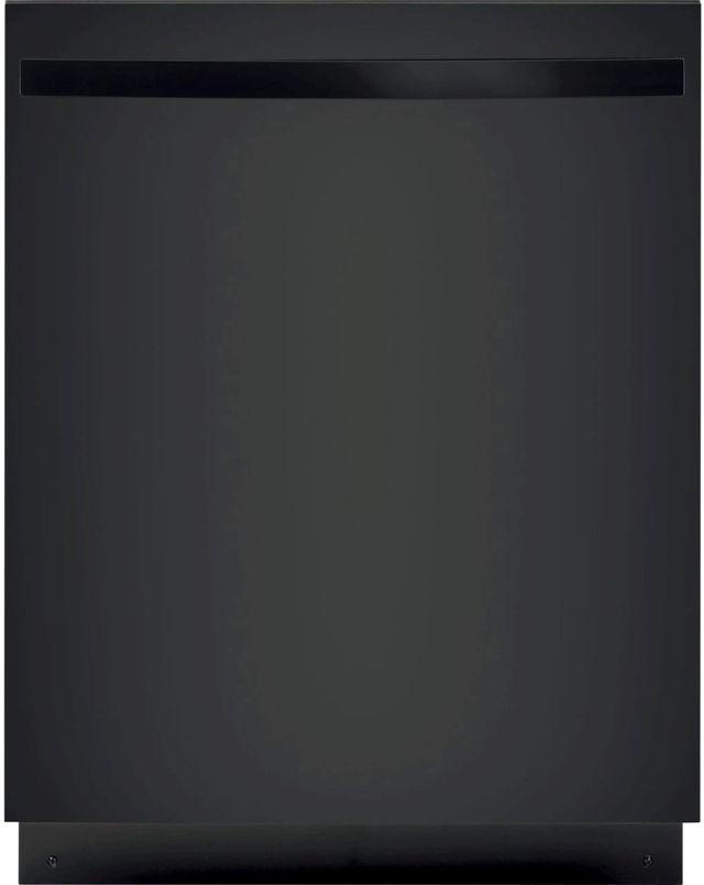 """GE® 24"""" Black Built In Dishwasher-GDT226SGLBB"""