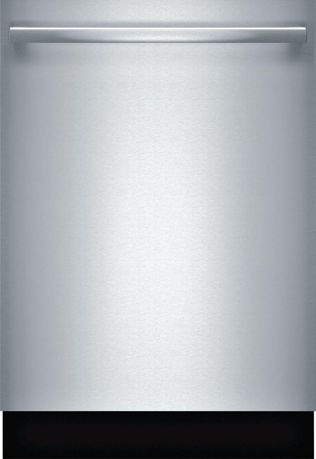 """Bosch Benchmark® Series 24"""" Stainless Steel Built In Dishwasher-SHX88PW55N"""