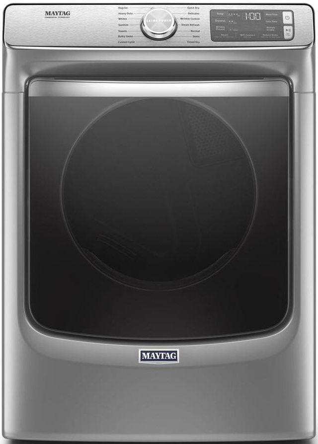 Maytag® 7.3 Cu. Ft. Metallic Slate Front Load Electric Dryer-MED8630HC