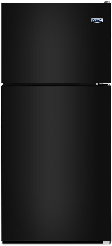 Maytag® 20.51 Cu. Ft. Black Top Freezer Refrigerator-MRT311FFFE
