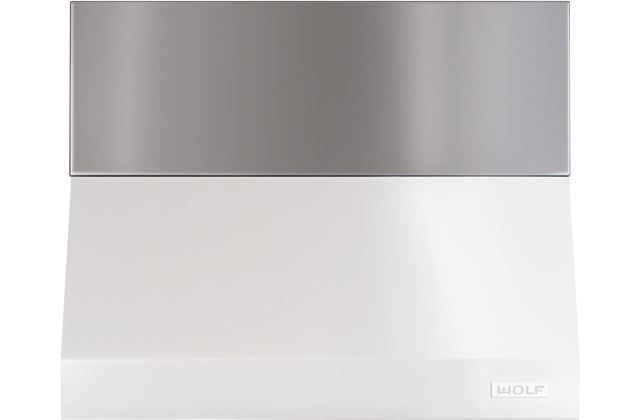 """Wolf® 6"""" Stainless Steel Pro Wall Hood Duct Cover-810711"""