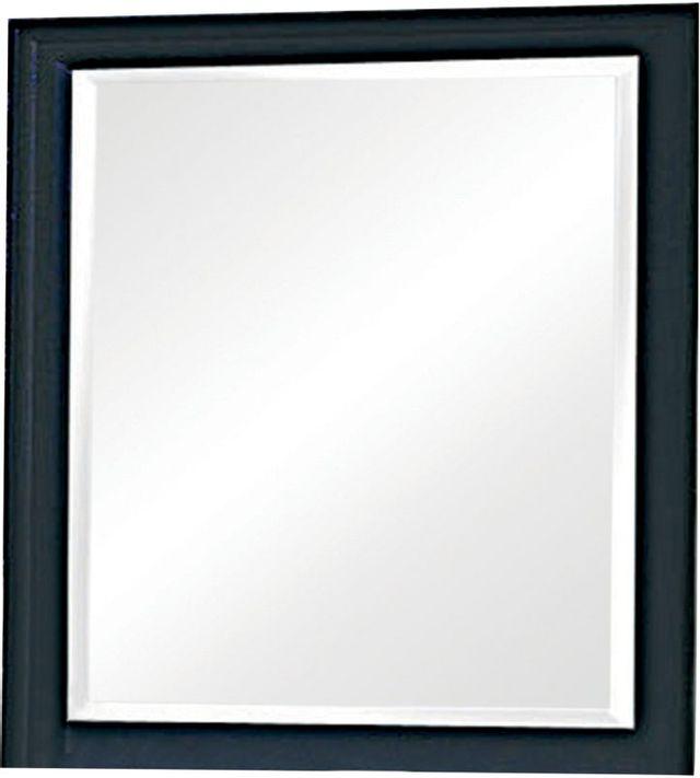Coaster® Sandy Beach Black Vertical Dresser Mirror-201324