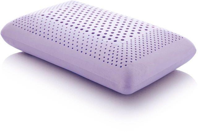 Malouf® Sleep Z® Zoned Dough® Lavender Queen Pillow-ZZQQMPASZL