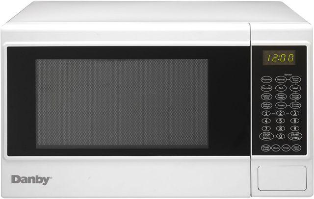 Danby® Countertop Microwave-Black and White-DMW14SA1WDB