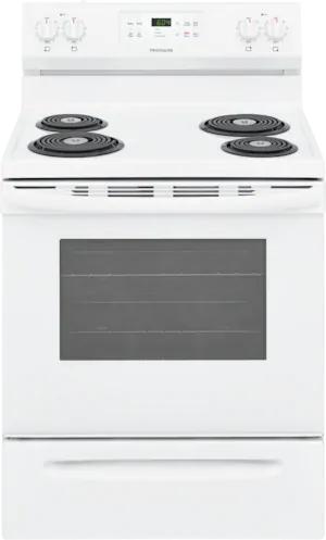"Frigidaire® 30"" White Freestanding Electric Range-CFEF3016VW"