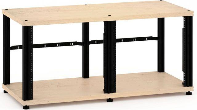 Salamander Designs® Synergy Twin 20 Rack Mount-Natural Maple/Black-SN20RMM/B