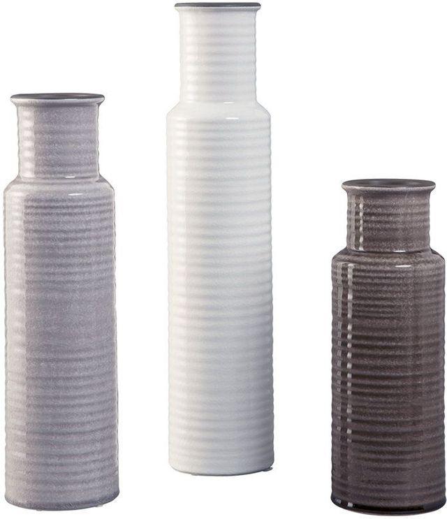 Signature Design by Ashley® Deus Set of 3 Multi-colored Vases-A2000132