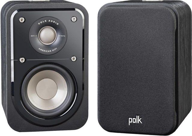 Polk Audio® Signature Series S10 Washed Black Walnut Compact Satellite Surround Speakers-AM9537