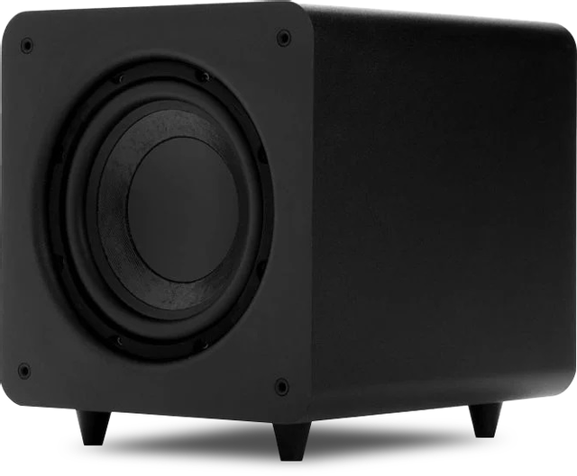 """Polk Audio® PSW111 Black 8"""" Compact Powered Subwoofer-AM1145"""