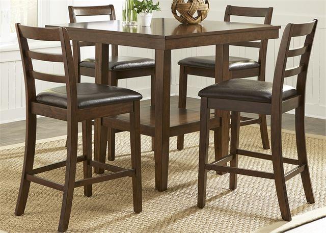 Liberty Furniture Hampton 5 Piece Gathering Table Set-32-CD-5GTS