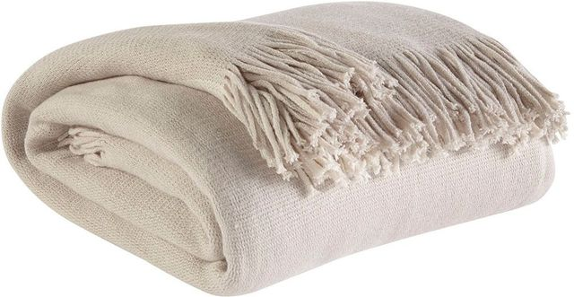 Signature Design by Ashley® Haiden Ivory/Taupe Set of 3 Throws-A1000042