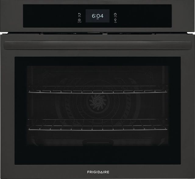 """Frigidaire® 30"""" Black Single Electric Wall Oven-FCWS3027AB"""