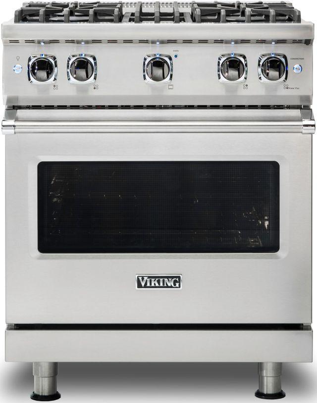 "Viking® Professional 5 Series 30"" Pro Style Gas Range-Stainless Steel-VGR5304BSSLP"