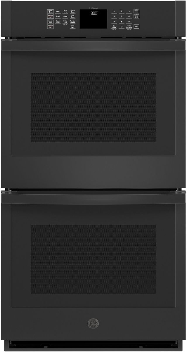 """GE® 27"""" Black Electric Double Oven Built In-JKD3000DNBB"""