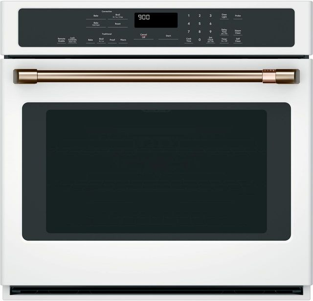 """Café™ 30"""" Matte White Electric Built In Single Oven-CTS90DP4MW2"""