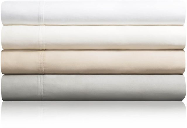 Malouf® Sleep Woven™ 600 TC Cotton Blend Ash Full Bed Sheet Set-MA06FFASCS
