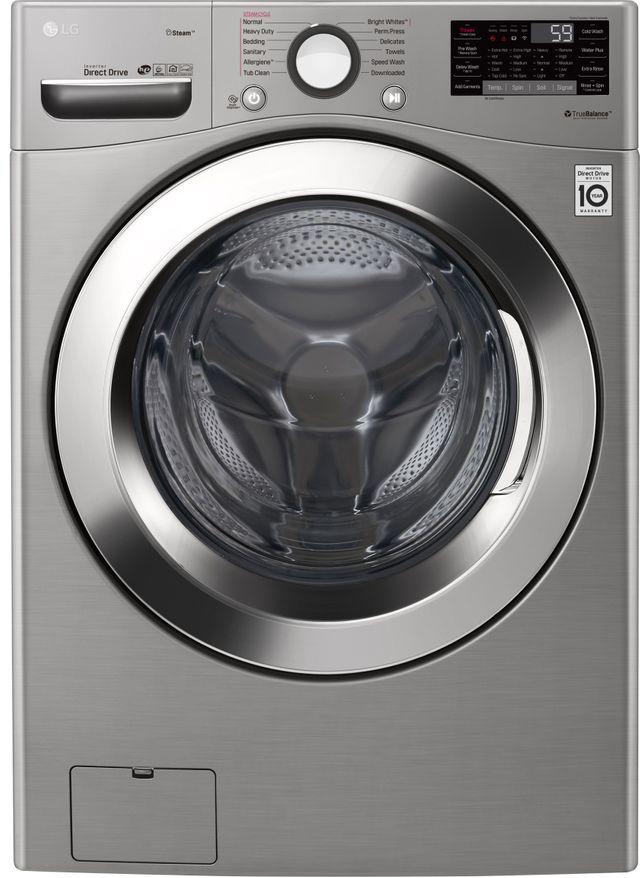 Laveuse à chargement frontal LG® de 4,5 pi³ - Acier inoxydable-WM3700HVA