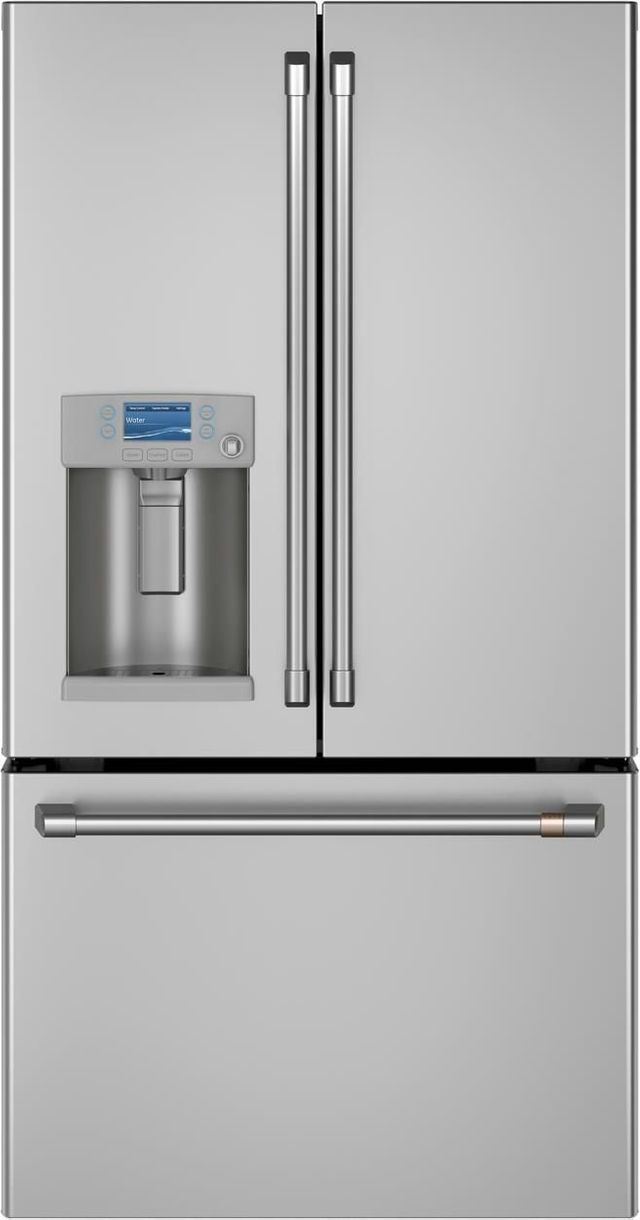 Café™ 22.2 Cu. Ft. Stainless Steel Counter Depth French Door Refrigerator-CYE22TP2MS1