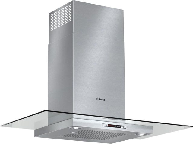 "Bosch Benchmark® Series 35.88"" Stainless Steel Canopy Chimney Hood-HCG56651UC"