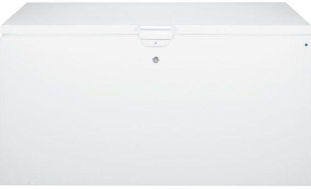GE® 21.7 Cu. Ft. Chest Freezer-White-FCM22DHWW