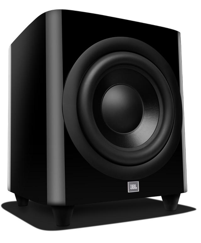 JBL Synthesis® HDI-1200P Black Powered Subwoofer-JBLHDI1200PBLQAM