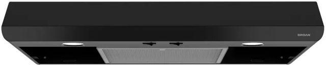"Broan® Sahale BKSA1 Series 30"" Under Cabinet Range Hood-Black-BKSA130BL"