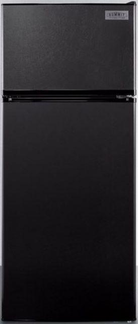 Summit® 10.3 Cu. Ft. Top Freezer Refrigerator-Black-FF1119B