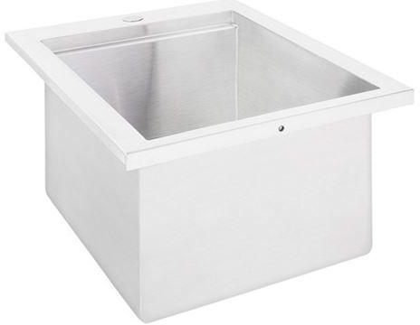"Lynx® Sedona Series 18"" Drop In Deep Sink-LSKD18"